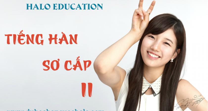 Khóa học Tiếng Hàn sơ cấp 2