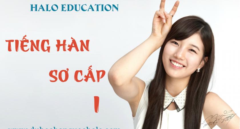 Khóa học Tiếng Hàn sơ cấp 1