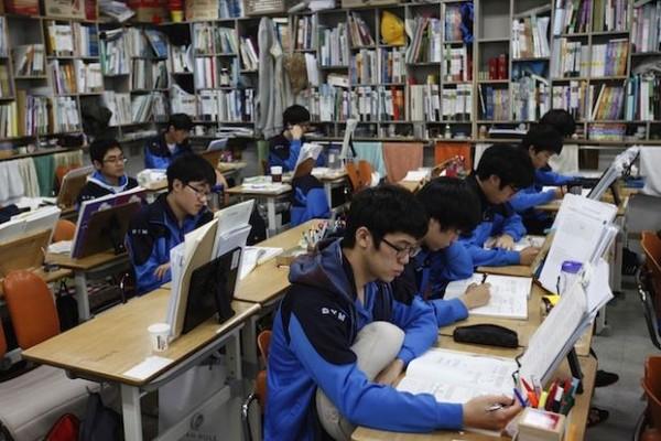 Tập trung cho quá trình thi cử tại Hàn Quốc