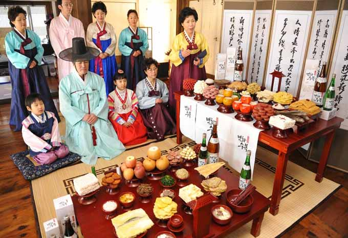 Ngày tết truyền thống với người dân Hàn Quốc